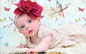 baby wearing fancy dress cute wallpaper free download