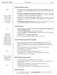 Sample Resume For Teaching Profession For Freshers by Resumes Visual Art Teacher Resume With Professional Objective And