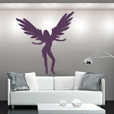 Angel Wings Home Decor by Angel Wings Wall Stickers Iconwallstickers Co Uk
