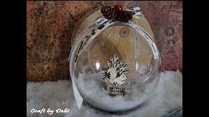 christmas ball fast and easy tutorial εύκολη χριστουγεννιάτικη