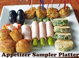 appetizer sample platter with turkey power balls healthy ideas