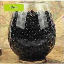Brown Vase Fillers Amazon Com Vase Filler Gel Beads Black 4oz Makes 3 Gallons