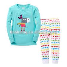 new arrival glow in pajamas children pyjamas cotton