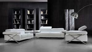 linda modern white leather sofa set vg 110 leather sofas