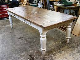 Farmhouse Table Runner Furniture Awesome Rustic Farmhouse Table With Bench Rustic