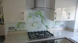 splashback ideas for kitchens printed glass splashbacks for kitchens colour 2 glass