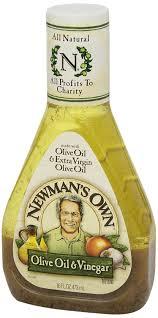 amazon com newman u0027s own salad dressing oil u0026 vinegar 16 ounce