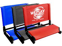 Stadium Chairs With Backs The Patented Stadium Chair Weplay Sports