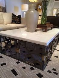 travertine top coffee table spanish travertine top coffee table from wisteria 1199 love this