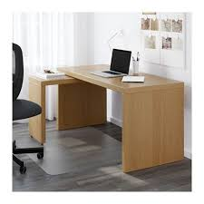 ikea bureau malm malm bureau avec tablette coulissante blanc malm work and