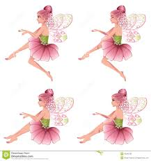 pink floral fairy stock vector image of fairy bush 45945285