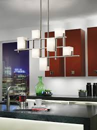 Kitchen Chandelier Lighting Kitchen Contemporary Chandelier Over Kitchen Island Kitchen