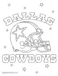 dallas cowboys coloring pages best coloring pages