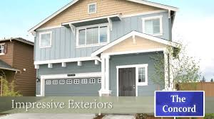 concord home plan by d r horton in washington state mov youtube