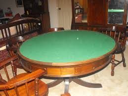 game u0026 dinning poker table for sale antiques com classifieds
