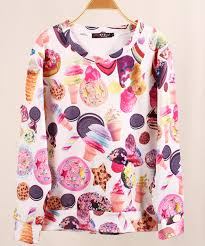 3d sweater harajuku printed sweater 3d sweater sleeve tops for