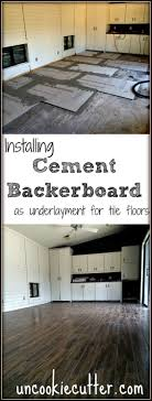 cement backerboard floor tile installation tile flooring