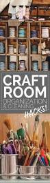 craftroom storage organization and thorough cleaning tips