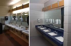 src locker change room renovation ubc sport facilities sink basins