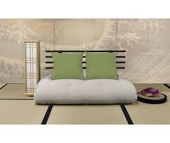 divanetto letto divani letto in legno vivere zen