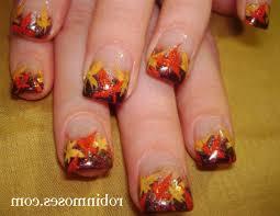 fall leaf nail art gallery nail art designs