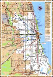 Map Metro Chicago by Chicago Map Pdf My Blog
