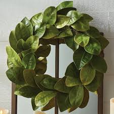 24 magnolia wreath antique farmhouse