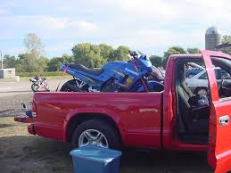 Dodge Dakota 2000 Truck Bed - which pick up trucks has your bike fit in chicagoland sportbikes