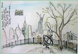 new york skyline kerry mcfall u0027s gallery nouveau