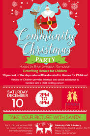 community christmas party hosted by brian livingston campaign