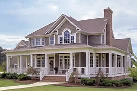country farm house plans country farmhouse with wrap around porch 16804wg architectural