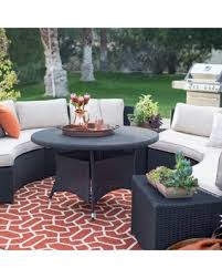 all weather dining table don t miss this deal belham living meridian all weather wicker