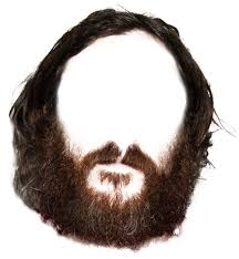 beard template psd