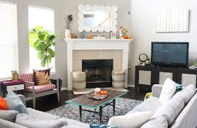 home fall decor style it adding fall decor to the living room a kailo chic life