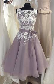 bridesmaid gown gray prom dress lace prom dress unique bridesmaid dress