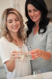 amazon com swarovski crystal magnetic wine glass charms set of