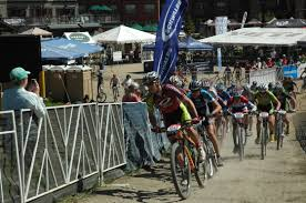 spectator friendly mtb racing includes a short track reckoneer