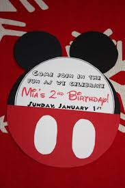 Mickey Mouse Birthday Invitation Card 54 Best Luke U0027s Birthday Images On Pinterest Mickey Party Mickey