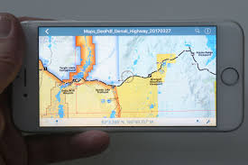 Show Me A Map Of Alaska by Hiking Maps Go Mobile Feds Unveil Digital Backcountry Guides For