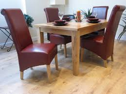 Red Leather Dining Chair Dark Red Leather Dining Chairs Pictures