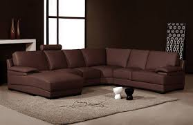 Leather Chaise Sofa Sofa Brown Sectional Brown Leather Sectional Sofa Living