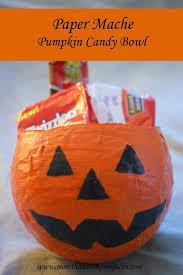 Paper Mache Pumpkin Paper Mache Pumpkin Candy Bowls More Than A Homeschool Mom