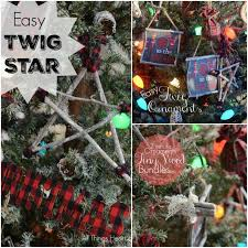 easy twig ornaments today call me all things and home