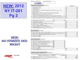 nys it 201 itemized deduction worksheet nys it 201 itemized
