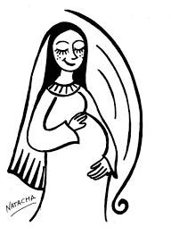 imagenes de virgen maria infantiles la concepcion de la virgen maria en laminas para colorear