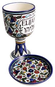 seder cup 6 passover wine cup set