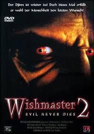Wishmaster 2: El mal nunca muere (1999)