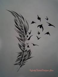 feather n owl tattoo design photos pictures and sketches