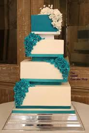 teal wedding design teal wedding cakes gorgeous cake all sugar roses and