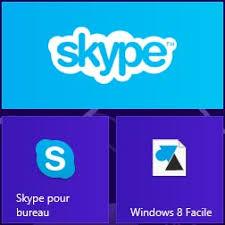 windows 8 icone bureau envoyer des fichiers avec skype pour windows 8 et rt windowsfacile fr